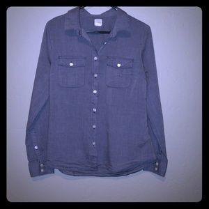 Womens JCrew perfect shirt